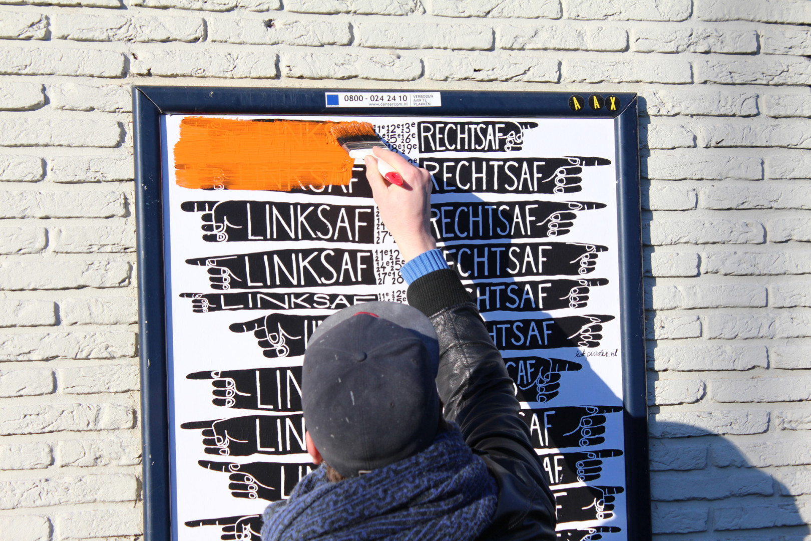 Transforming a poster campaign into a wayfinding system